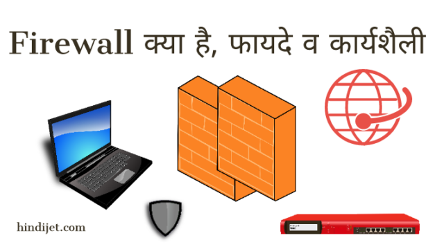 Firewall kya hai, fayde aur karyshaili, What is firewall in hindi and how does it works.